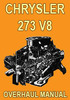 Thumbnail Vailant Chrysler 273-V8 Engine Overhaul Manual