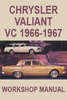 Thumbnail Chrysler Valiant VC Workshop Manual