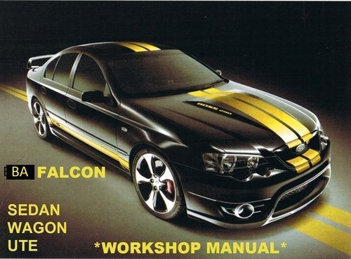 Pay for Ford Falcon BA Series 2003-2005 Service Repair Manual