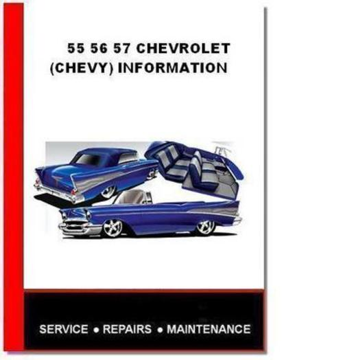 Free 55 56 57 CHEVROLET FULL INFOMATION ASSEMBLY MANUALS Download thumbnail