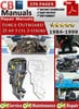 Thumbnail Force Outboard 25 hp 3 cyl 2-stroke 1994-1999 Service Manual