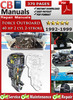 Thumbnail Force Outboard 40 hp 2 cyl 2-stroke 1992-1999 Service Manual