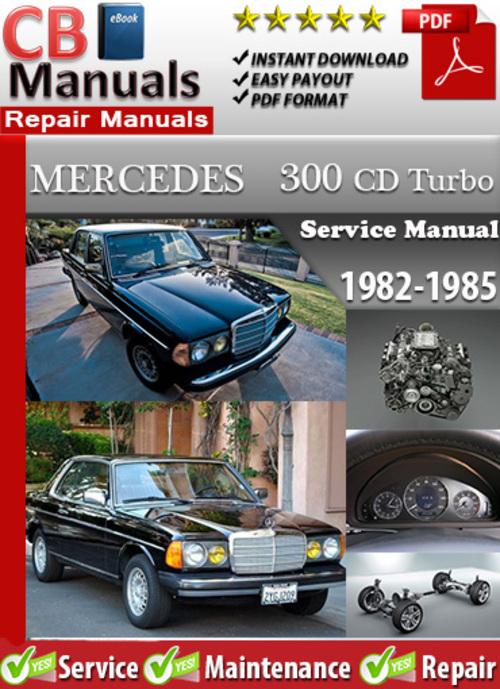 Free Mercedes 300 CD Turbo 1982-1985 Service Manual Download thumbnail