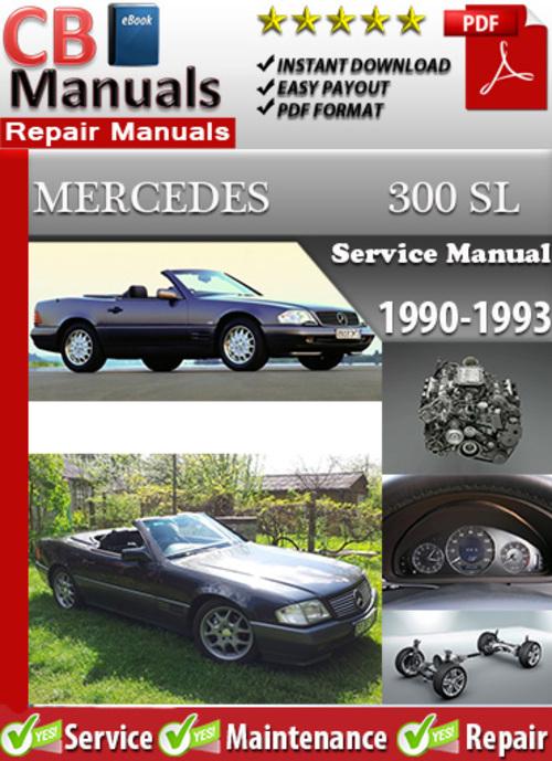 Free Mercedes 300 SL 1990-1993 Service Manual Download thumbnail