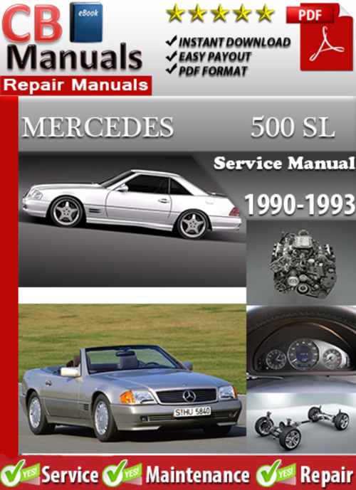 Mercedes 500 sl 1990 1993 service manual download for 2003 mercedes benz sl500 owners manual