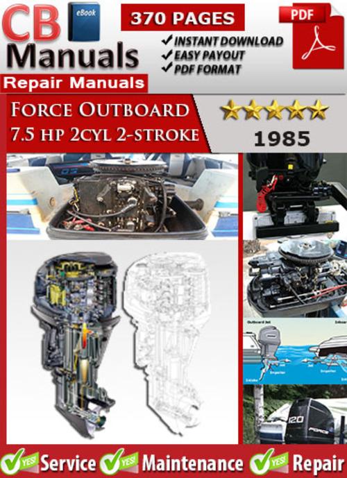 Force outboard Repair Manual download
