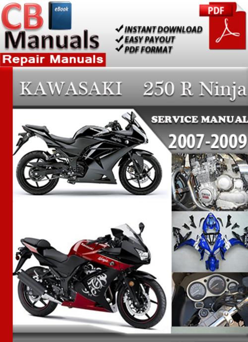 ninja 250 service manual