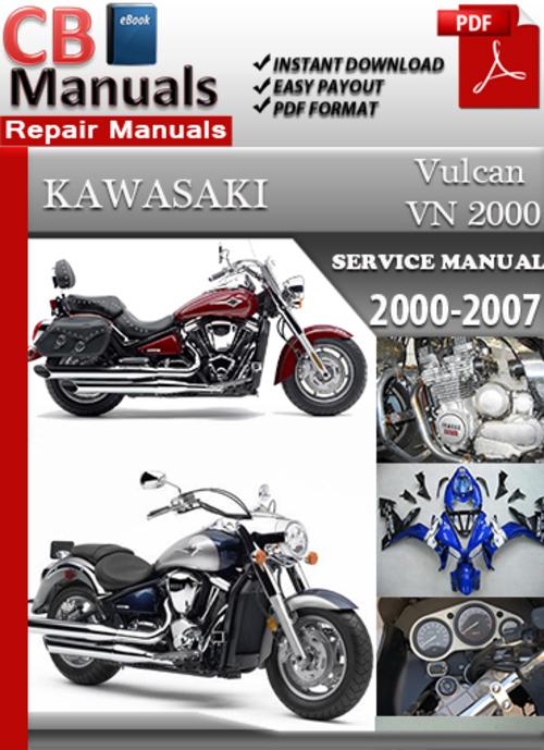 kawasaki vn2000 2003 2004 service repair manual download