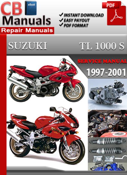 Pay for Suzuki TL 1000 S 1997-2001 Service Repair Manual