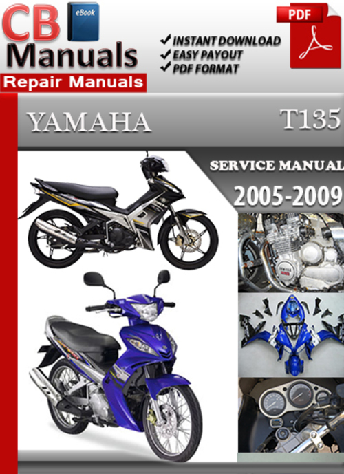 yamaha t135 2005 2009 service repair manual download manuals rh tradebit com Yamaha Sniper 135 Yamaha Sniper Modified