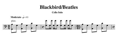 Thumbnail Blackbird cello solo