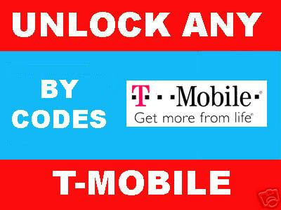 Pay for REMOTE UNLOCK ALL TMOBILE PHONES BY IMEI - unlock Code for Blackberry 8100 (pearl) 8300 (Curve), HTC Dash, Blackjack and more...