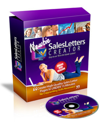 Pay for Newbie Sales Letter Creator - In Less Than 15 Minutes