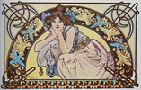 Thumbnail Art Nouveau Retro Images-136 Vintage Patterns & Clip Art