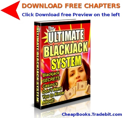 Pay for The Ultimate Blackjack System with FREE CHAPTERS