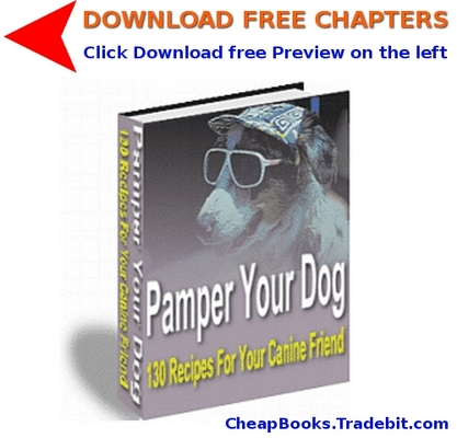 Pay for Pamper Your Dog with FREE CHAPTERS