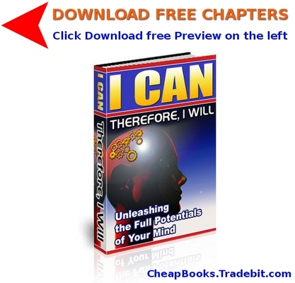 Pay for I Can. Therefore, I Will with FREE CHAPTERS
