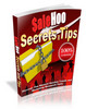 Thumbnail Salehoo Secrets and Tips eBook