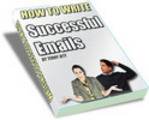 Thumbnail Write Emails For Success eBook