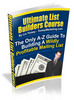 Thumbnail Ultimate List Builders Course eBook