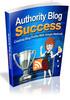 Thumbnail Authority Blog Success
