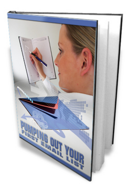 Pay for Pumping Out Your First Email List eBook