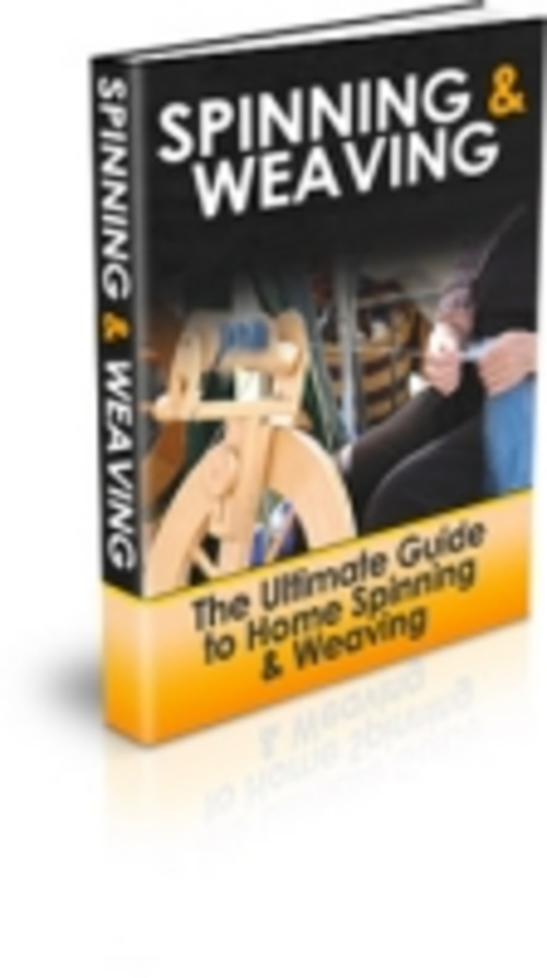 Pay for Spinning and Weaving eBook