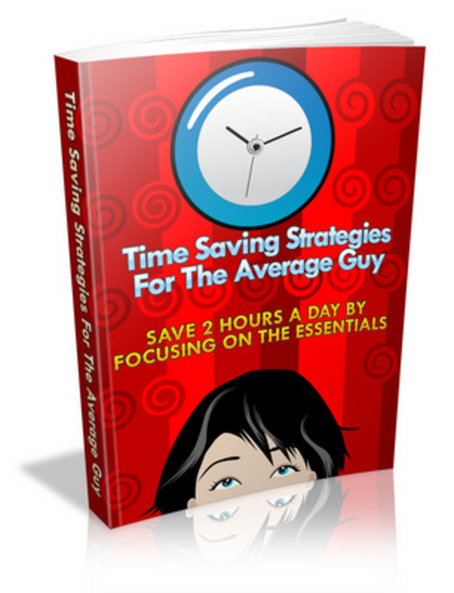 Pay for Time Saving Strategies For The Average Guy eBook
