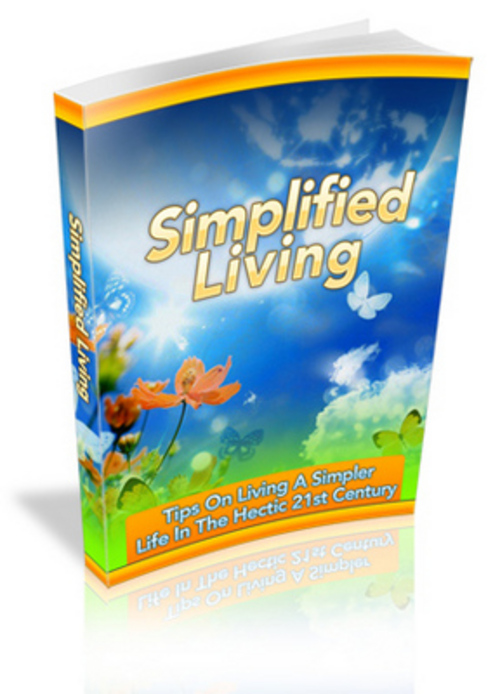 Free Simplified Living eBook Download thumbnail