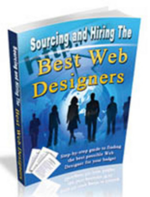 Pay for Sourcing The Best Web Designers eBook