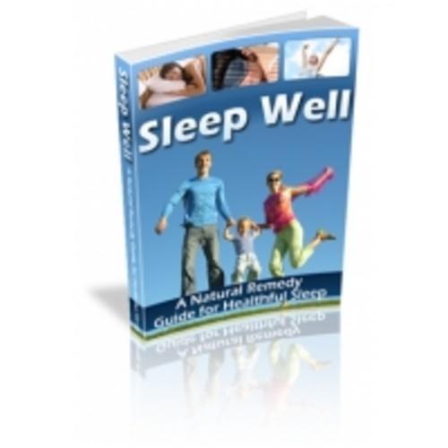 Free Sleep Well eBook Download thumbnail