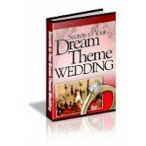 Pay for Secrets to Your Dream Theme Wedding eBook