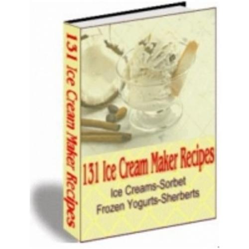 Pay for Ice Cream Recipe eBook