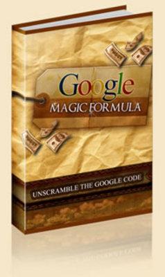 Pay for Google Magic Formula 3 Ebooks Inside
