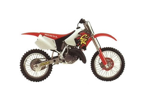 Pay for CR125R 1992-1997 Repair Workshop Manual