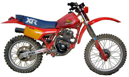 Pay for  XR80R-XR100R 1985-1997  Workshop Repair Manual