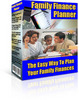 Thumbnail Family Finance Planner With Resell Rights
