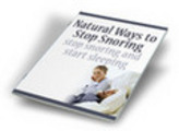 Thumbnail NEW!* Natural Ways to Stop Snoring Now + MRR*