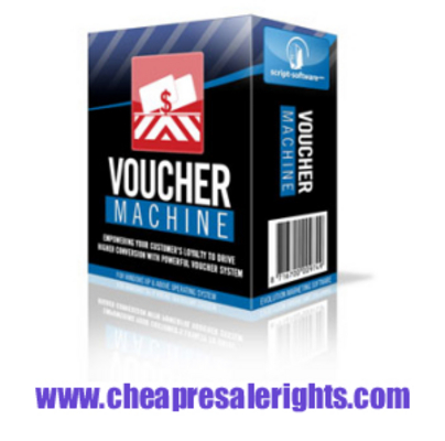 Pay for NEW ! Voucher Machine With Resale Rights