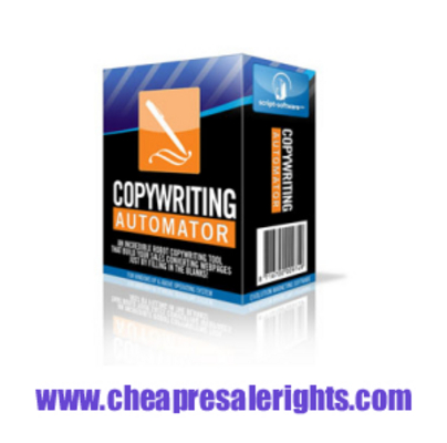 Pay for NEW*! Copywriting Automator with Resale Rights