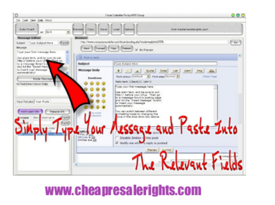 Pay for NEW!* Forum Submitter Pro With MRR