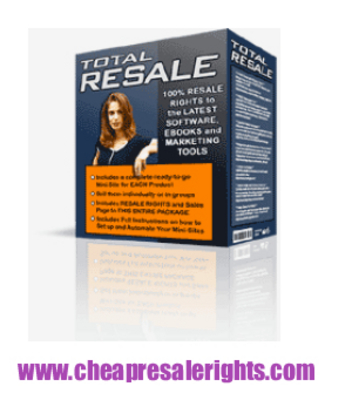 Pay for NEW!* Total Resale Package With MRR
