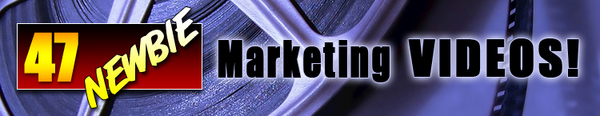 Pay for NEW* 47 Newbie Marketing Videos With PLR