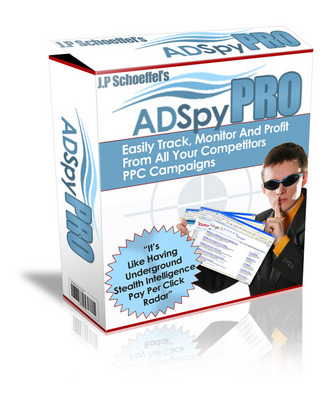 Pay for *NEW!* Ad Spy Pro - PPC Software