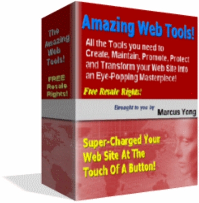 Pay for NEW!* Amazing Website Tools Package With Resell Rights