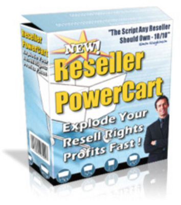 Pay for NEW!* Reseller Power Cart ! Resale Rights Included.