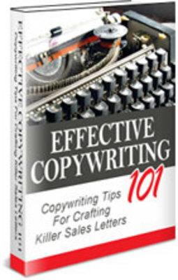 Pay for NEW!* Effective Copywriting 101 With Resale Rights**