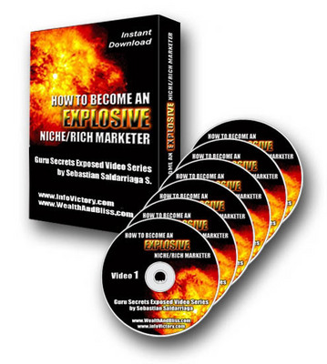 Pay for NEW!* Explosive Niche Rich Marketing  Videos With MRR