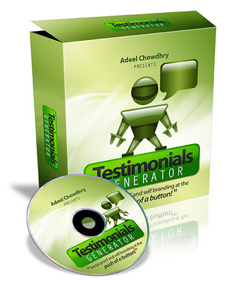 Pay for NEW!* Testimonials Generator  With MRR*