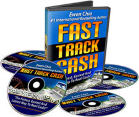 Pay for Ewen Chia Fast Track Cash Videos and eBooks with MRR